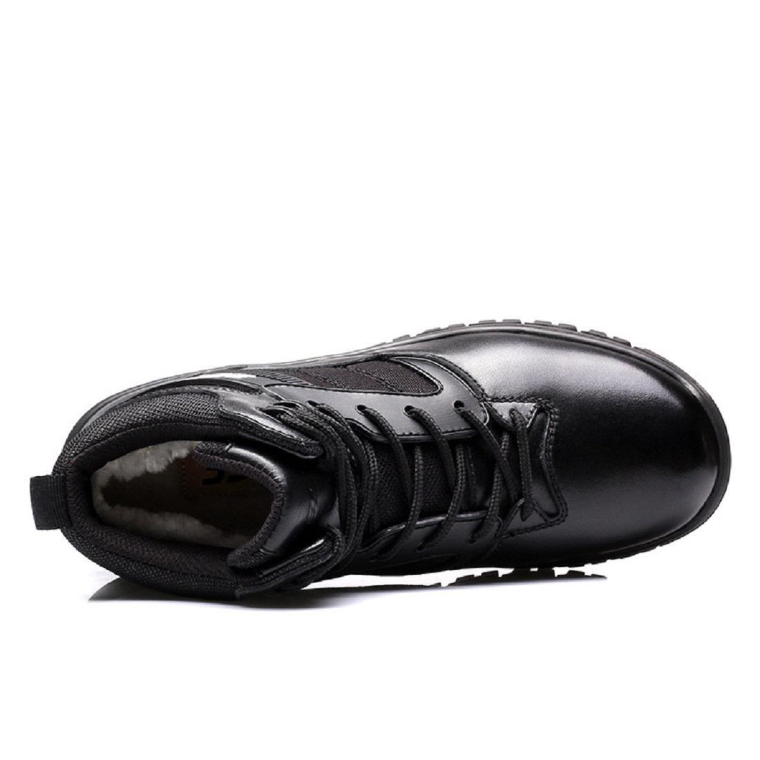 Herren Warm halten Martin Stiefel Winter Plus Kaschmir Schneestiefel Lederschuhe Rutschfest Schuhe erhöhen Stiefel Draussen Lederschuhe Schneestiefel EUR GRÖSSE 38-44 eb56d2