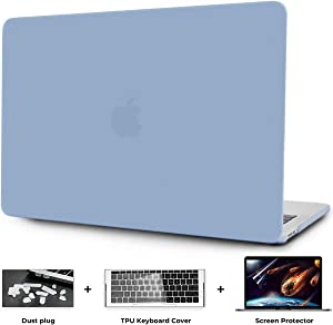 OneGET MacBook Air 13 Inch Case Hard Shell Laptop Case MacBook Air13 Release 2010-2017 A1369 A1466 with Retina Display PP Computer Case MacBook Air 13 Minimalist Thin MacBook Air 13 Case (Light Blue)
