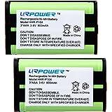 URPOWER® 2 Packs Home Phone Battery For Panasonic HHR-P104, HHR-P104A, KX-FG6550, KX-FPG391, KX-TG2302, KX-TG2303, KX-TG2312, KX-TG2355W, KX-TG2356B, KX-TG2356BP, KX-TG2356S, KX-TG2356W, KX-TG2357B, KX-TG2357PK, KX-TG2382B, KX-TG2386B, KX-TG2388B, KX-TG2396
