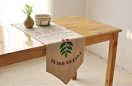 TOTO British Retro Table Runner American Bar Cafe Double Table Flag
