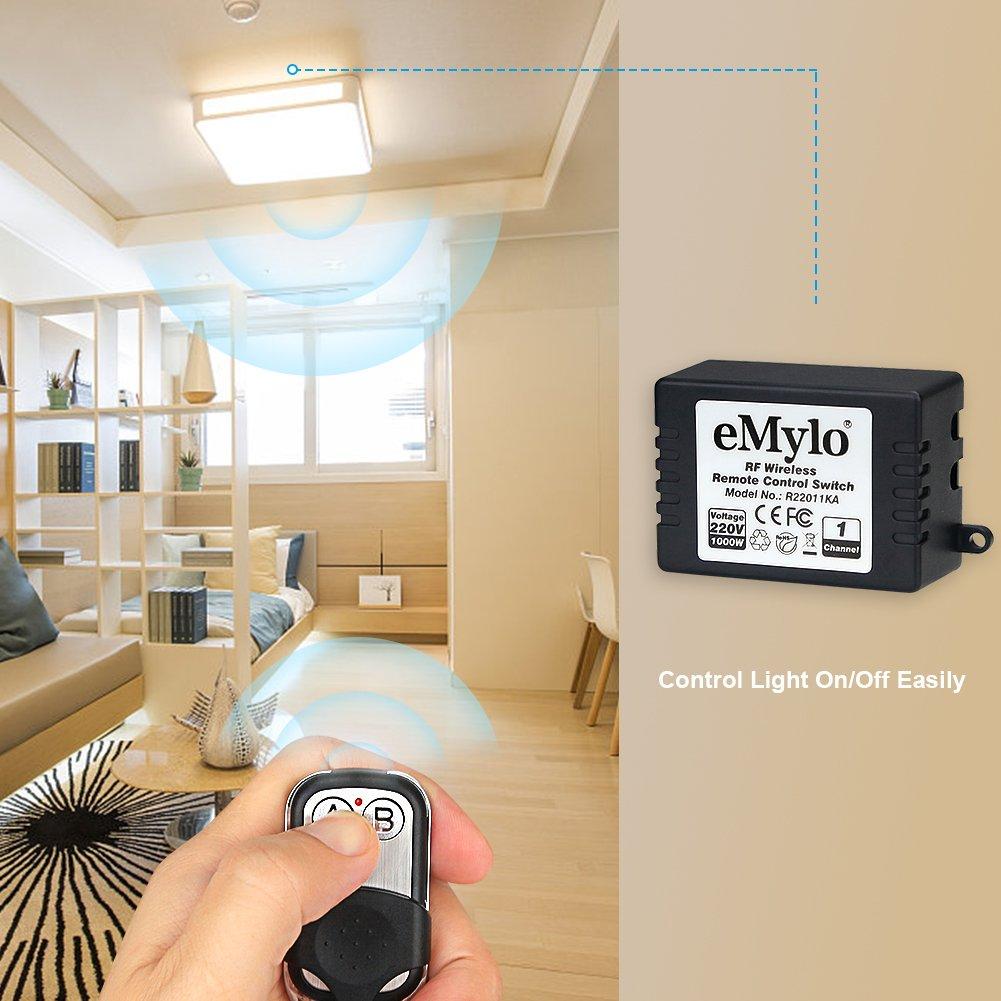 Schema Elettrico Emylo : Emylo ac v w canale smart remote control switch