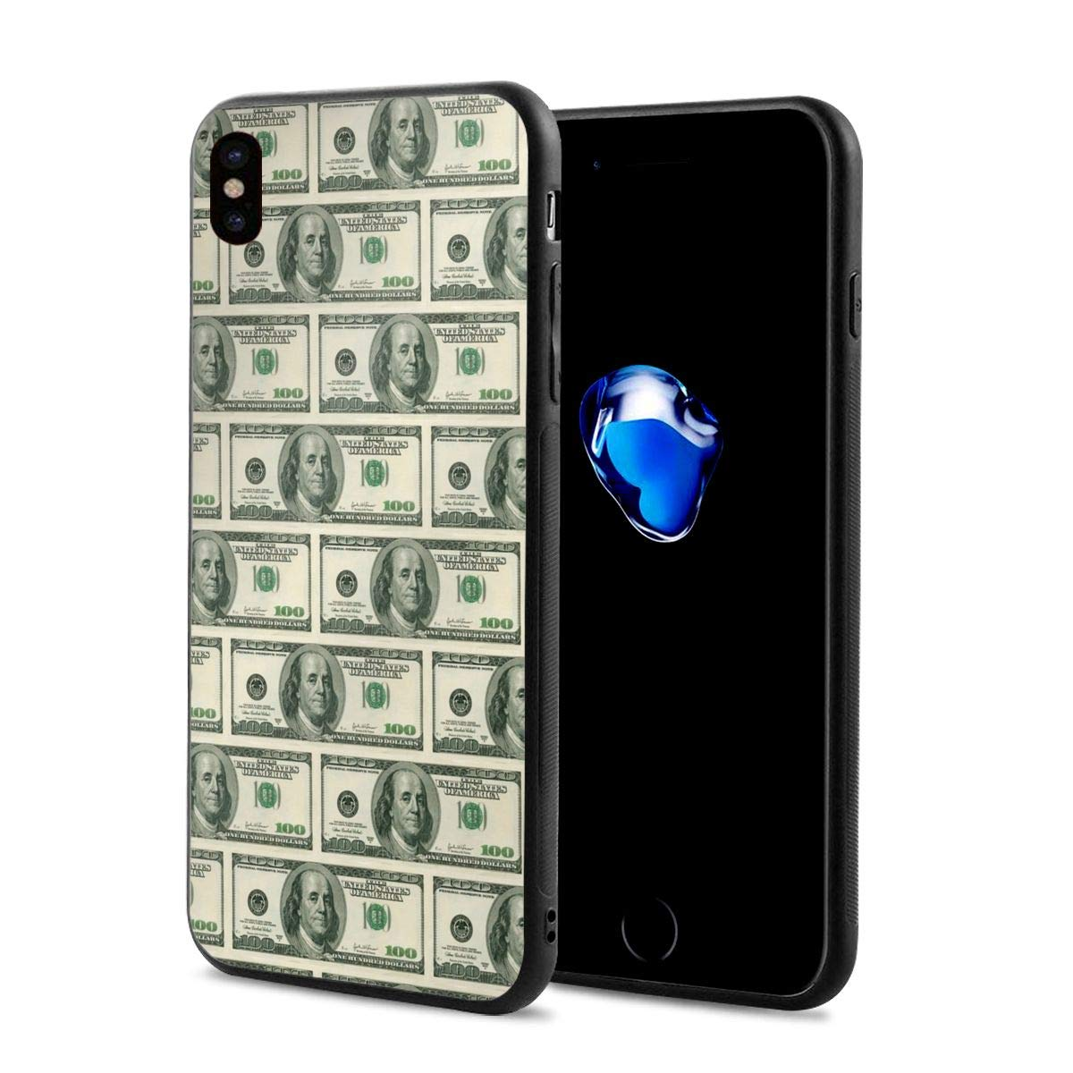 purchase cheap 78852 0d4f9 Amazon.com: iPhone X Case Cover Money Cases Shell for Apple iPhone X ...