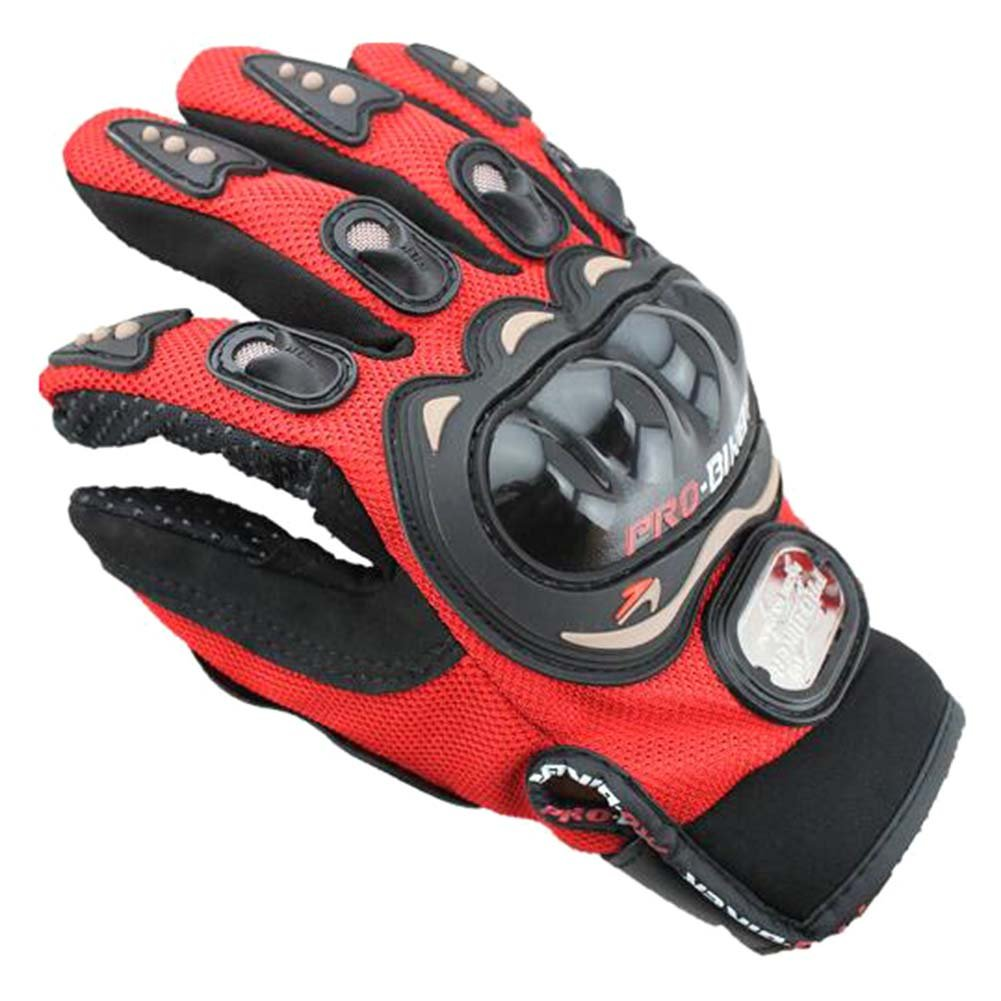 Tracffy Vollfinger Motorradhandschuhe f/ür Herren und Damen Sommer Winter Motocross Fahrrad MTB Roller Sport Handschuhe