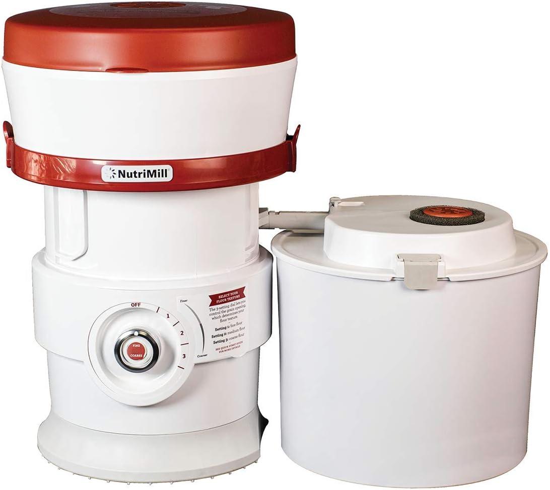 NutriMill Plus Grain/Flour Mill Electric High Speed Grinder