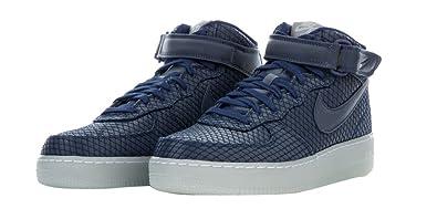 low priced 66cc5 ffc3c Amazon.com | Nike Air Force 1 Mid '07 LV8 Binary Blue/Binary ...