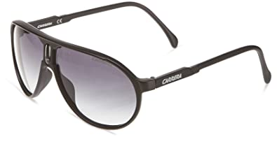 4d47cca01c Image Unavailable. Image not available for. Color  Carrera Champion DL5 JJ  Matte Black Grey Gradient Unisex Aviator Sunglasses