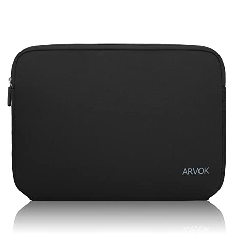 9381c1d15859 Arvok 13-14 Inch Laptop Sleeve Multi-color & Size Choices  Case/Water-resistant Neoprene Notebook Computer Pocket Tablet Carrying Bag  Cover, Black