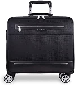 Trolley case Carry-On Expandable Suitcase Luggage with Wheels with Spinner Reaction of Bounds Lightweight Checked Caster Luggage Trolley Case Password Lock Box 16 Inch Trolley case