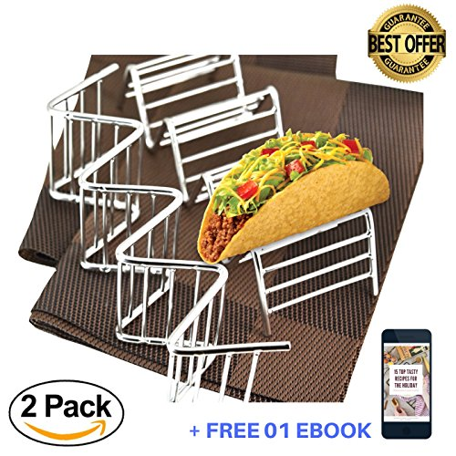 Fantastic Taco Racks with placemats