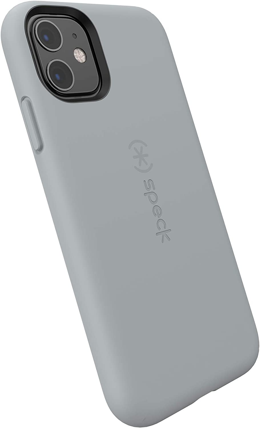 Speck CandyShell Fit iPhone 11 Case, Pebble Grey/Pebble Grey
