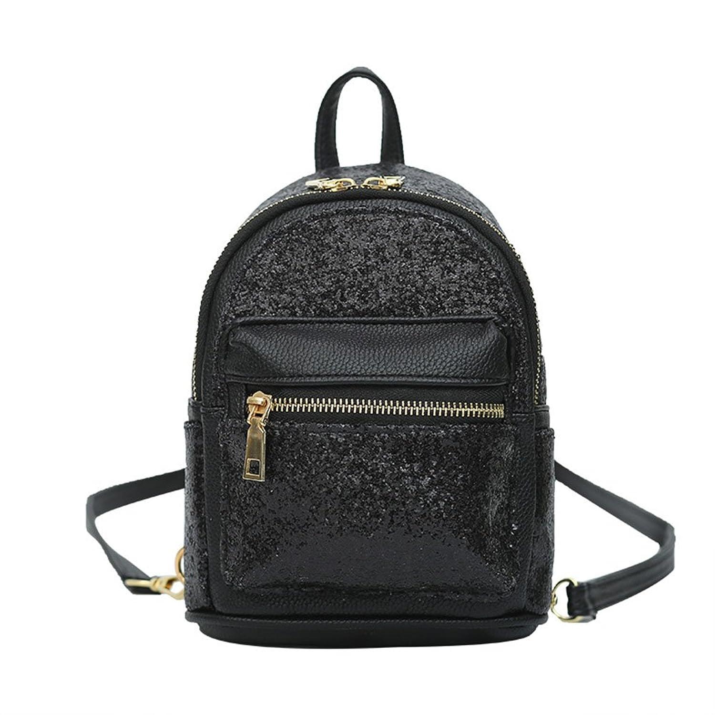 Sequin Backpack Purse Click Backpacks