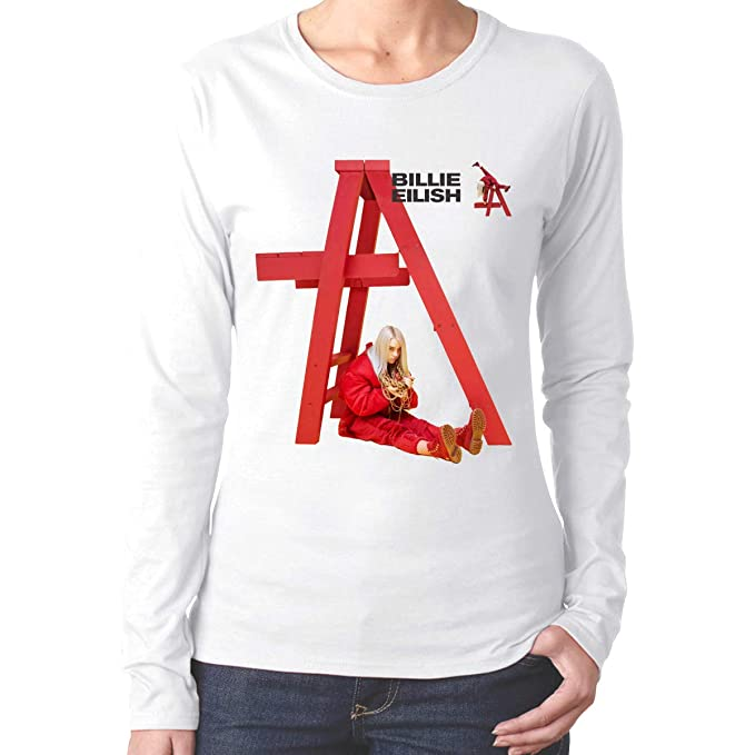 a6ee000acf2 Amazon.com  BE-AUTIFUL Billie Eilish Woman Perfect Long Sleeve T ...