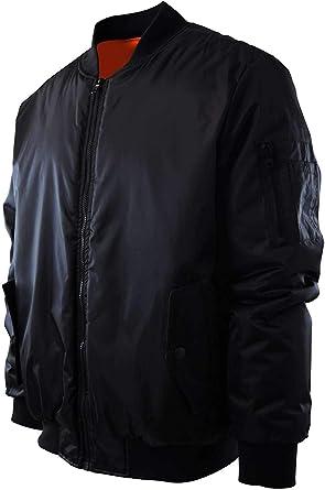 Mens Premium Quality Bomber Flight Jacket