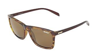 Sinner Erwachsene Sonnenbrille Oak Polycarbonat Sintec Polarisiert, Matt Schwarz, SISU-719-10-P58