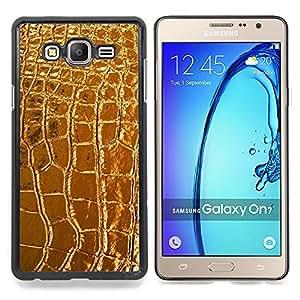 For Samsung Galaxy On7 G6000 - leather crocodile luxury luxurious /Modelo de la piel protectora de la cubierta del caso/ - Super Marley Shop -