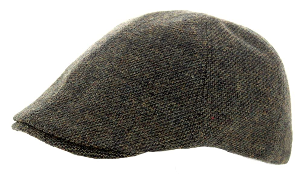 Heritage Traditions Green Twill Peaky Blinder Tweed Cap Hat HAT66