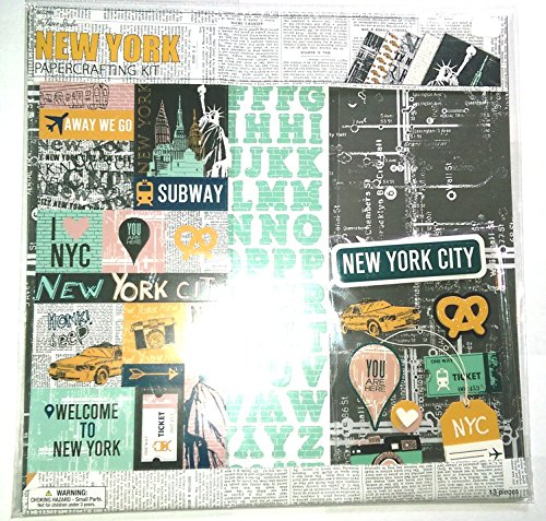 New York Scrapbook Page Kit 12x12 (York New Scrapbooking)