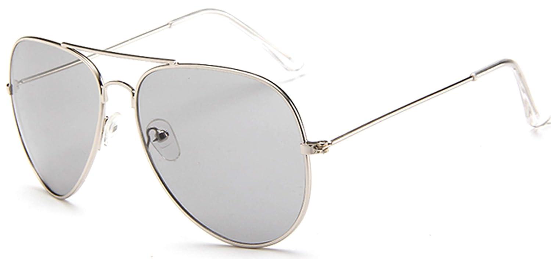 J/&L Glasses Polarized Classic Style Aviator Mirrored Sunglasses for Men Women