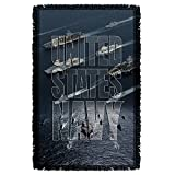 united states navy blanket - 2Bhip United States Navy Armed Forces Seaborne Branch Fleet Woven Throw Blanket
