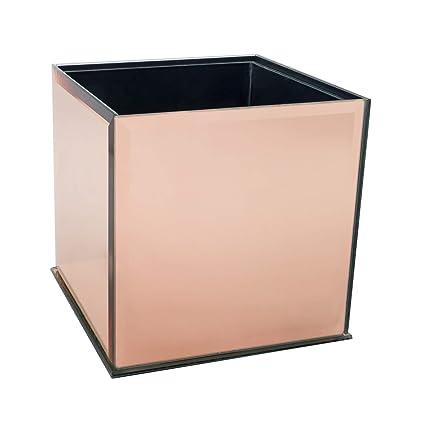 Royal Imports Florero de Cristal Decorativo Centro de Mesa para casa o Boda por Cubo Plato