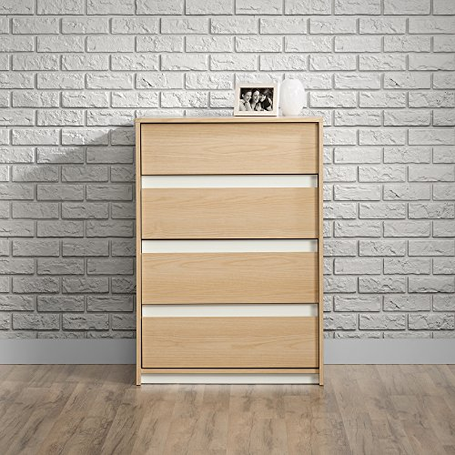 Ash Chest Of Drawers (Sauder Square1 4 Drawer Chest in Urban Ash)