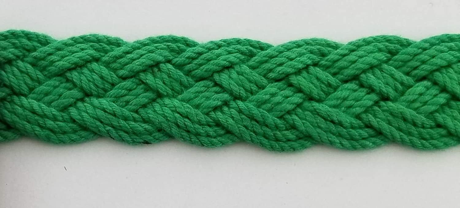 10 Continuous Yards Many Colors Available! Grey Multi 7//8 Heavy Braid Gimp Trim