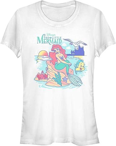 New Disney Juniors/' The Little Mermaid Ariel Graphic T-Shirt