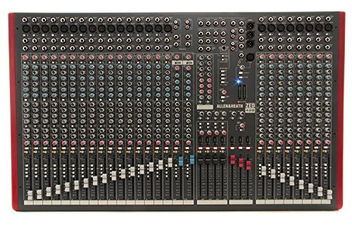 Allen & Heath ZED-428 24 Mic/Line, 4 Bus, Live Sound Mixer with USB Interface