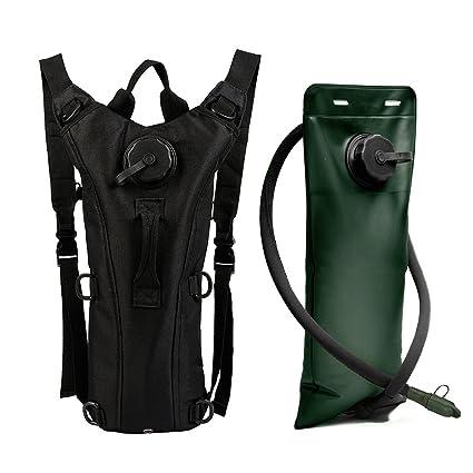 ZOORON ajustable portátil duradero 3L Sistema de hidratación bolsa de agua mochila mochila Camelbak bolsa de