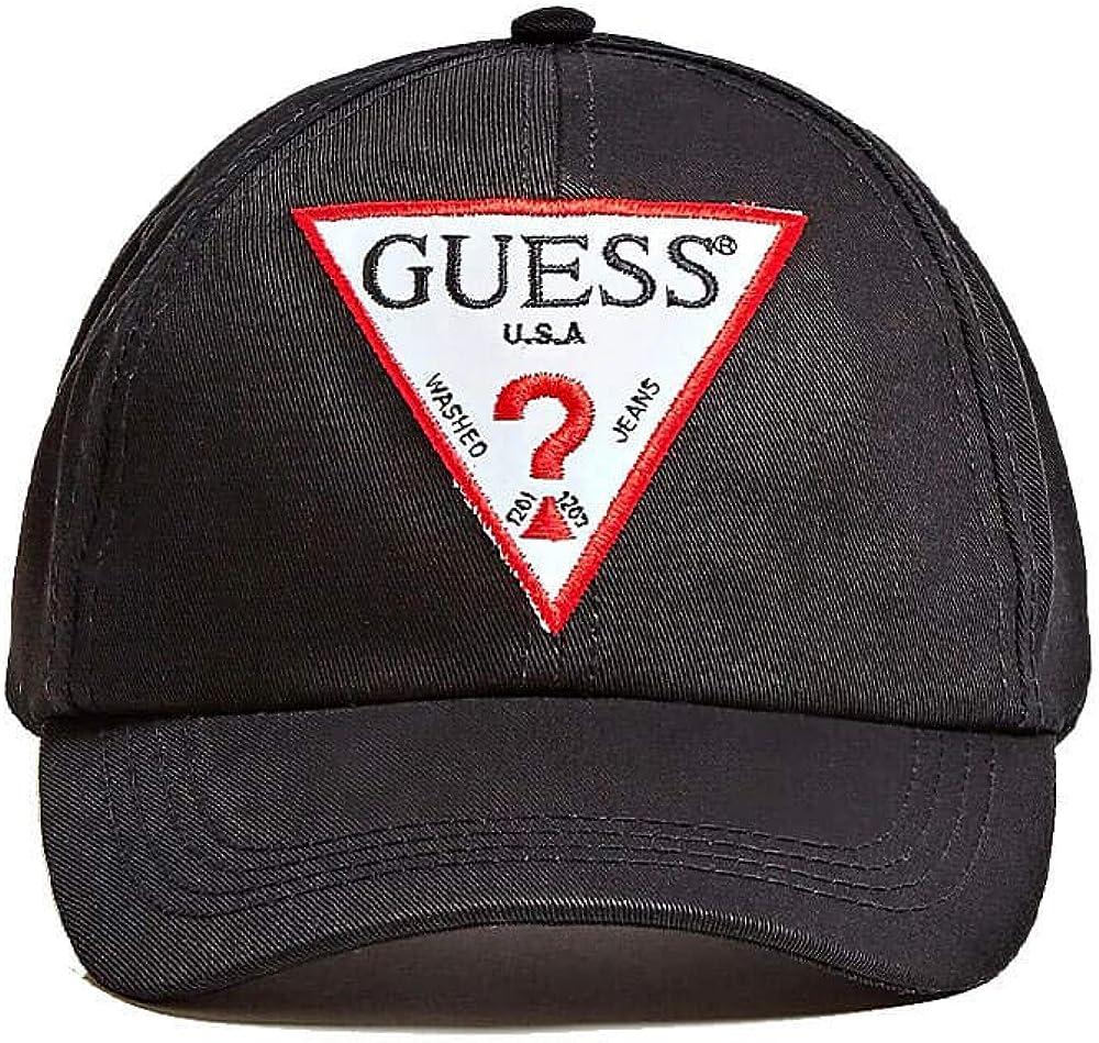 Guess O94Z05 WO04P A996 - Sombrero para Mujer, Color Negro: Amazon ...