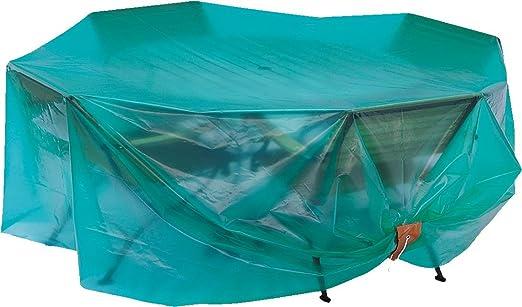 Maillesac JP0014 Housse pour Mobilier de Jardin Plastique Vert Translucide  26 x 19 x 6 cm Taille 2