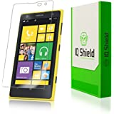 IQ Shield LIQuidSkin - Nokia Lumia 1020 Screen Protector - High Definition (HD) Ultra Clear Phone Smart Film - Premium Protective Screen Guard - Extremely Smooth / Self-Healing / Bubble-Free