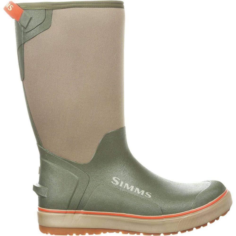 (シムズ) Simms メンズ 釣りフィッシング シューズ靴 Riverbank Pull - On 14in Boots [並行輸入品] B07JJ1Q42F   10
