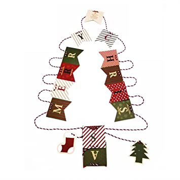 merry christmas bunting banner flags letter christmas tree christmas stocking pattern for christmas party paper ornaments