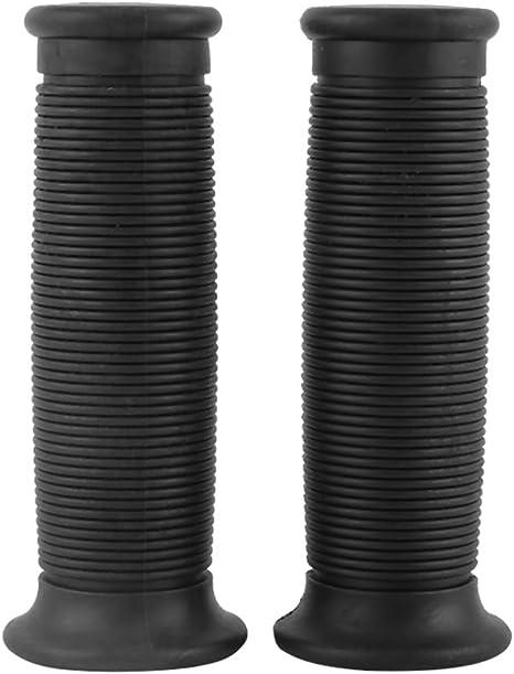 "Motorcycle Blue Rubber Handlebar Grips Retro Diamond Pattern Pair 1/"" 1 1//8/"" NEW"