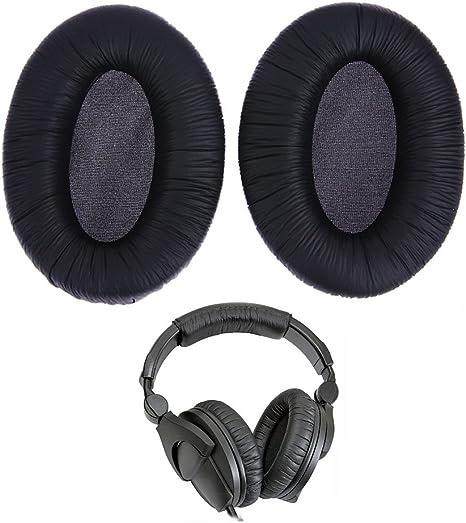 Ersatz schwarze Ohrpolster für Sennheiser HD280 HD 280 Pro Kopfhörer