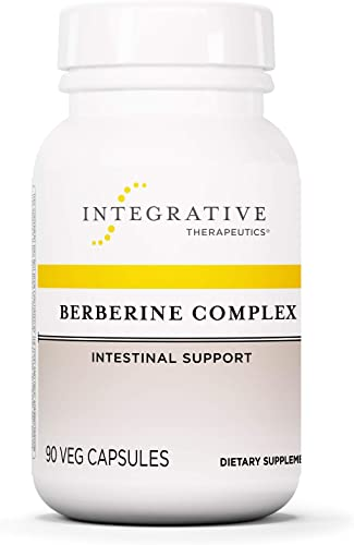 Integrative Therapeutics – Berberine Complex – Berberine Supplement with Oregon Grape an Goldenseal Root Extract – Vegan Supplement – 90 Capsules
