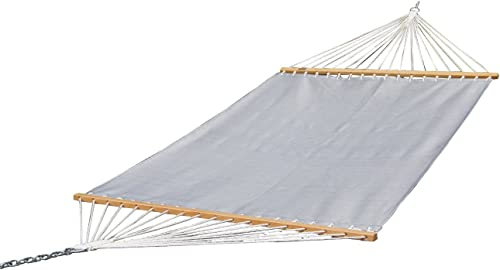 Prime Garden 13 FT Poolside Hammock, Waterproof and UV Resistance, 450 lbs, Including a Chain Hanging Kit, Grey