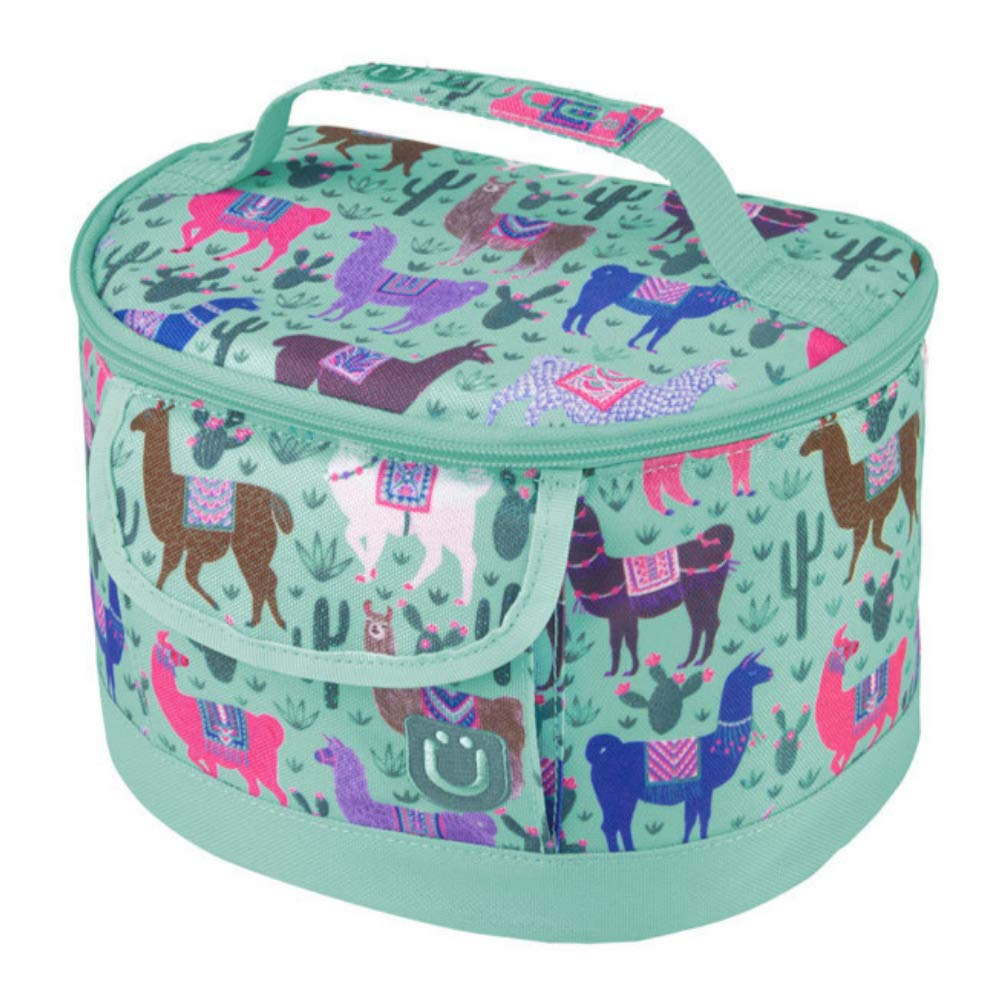 : Vinyl Liner for Easy Cleaning Choose Your Style for Kids or Adults Secures to Handle of Any Rolling Bag ZUCA Lunchbox BPA Free
