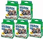 Bundle 5 packs of 20 Fujifilm Instax...