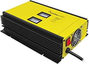 Samlex SEC-2440UL Automatic 24V Switch Mode Battery Charger; Automatic operation for ALL Lead Acid Batteries Flooded, AGM or Gel Cell; User Configurable AC Input voltage 120 or 230 VAC, 50/60 Hz