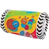Playgro Rouleau Gonflable Musical, À partir de 6 Mois, Tumble Jungle Peek in Roller, Multicolore, 40154