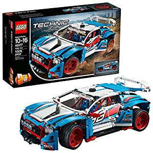 61lGhHEn5IL. SS300  - LEGO Technic Rally Car 42077 Building Kit (1005 Pieces) (Discontinued by Manufacturer)