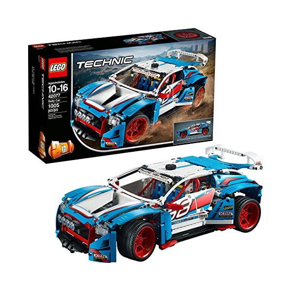 61lGhHEn5IL. SS600  - LEGO Technic Rally Car 42077 Building Kit (1005 Pieces) (Discontinued by Manufacturer)