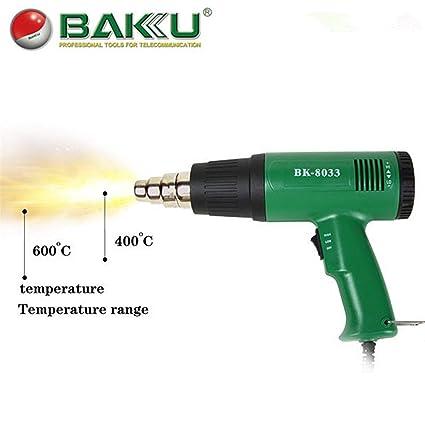 450W pistola de soldadura de aire caliente para reparación de teléfonos móviles BAKU BK-8033