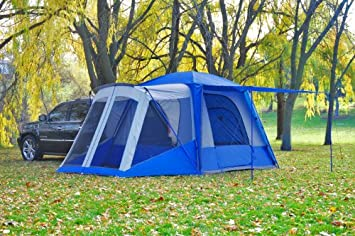Napier Outdoors Sportz 84000 5 Person SUV Tent with Screen Room