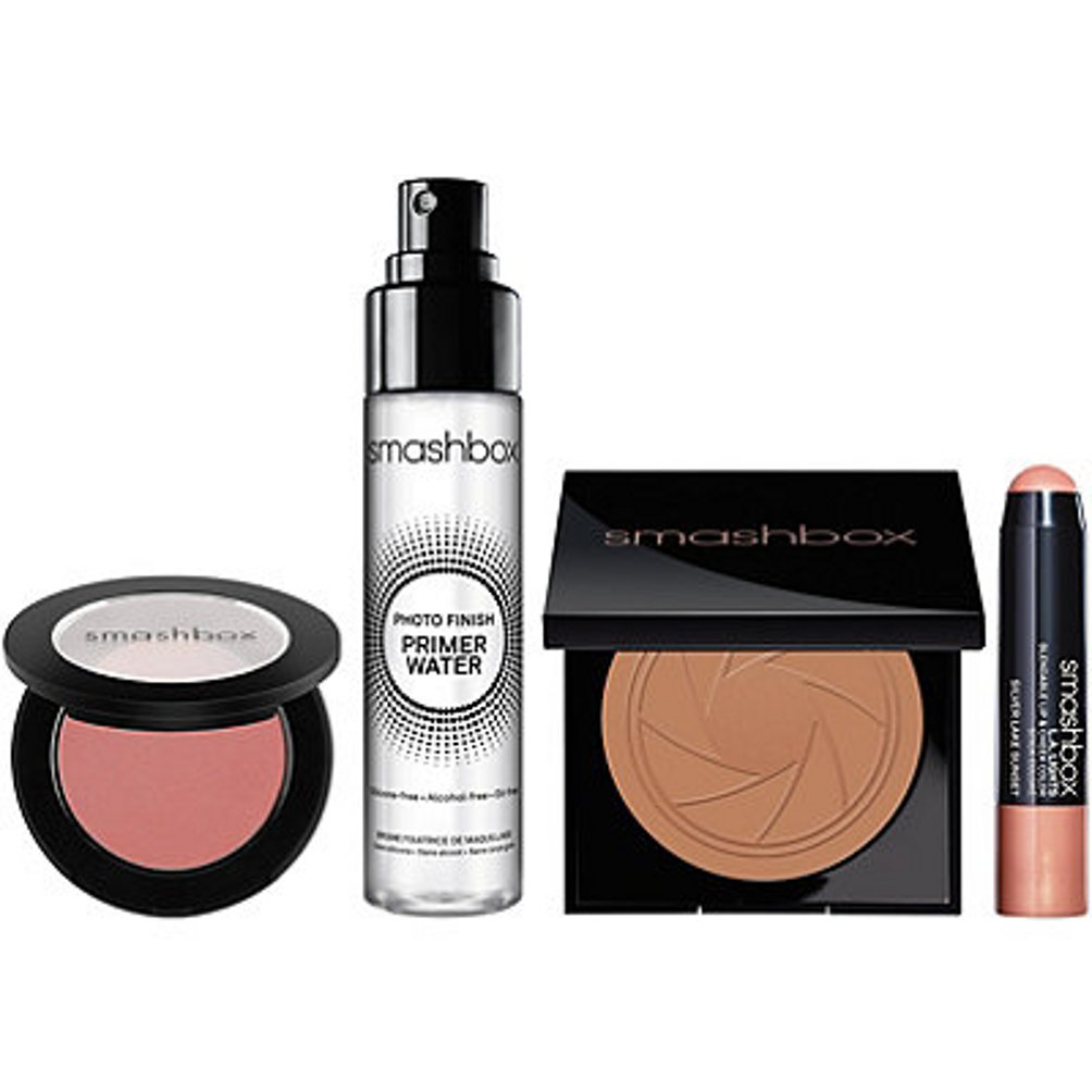 Smashbox L.a. Glow: Prime/bronze/highlight Set