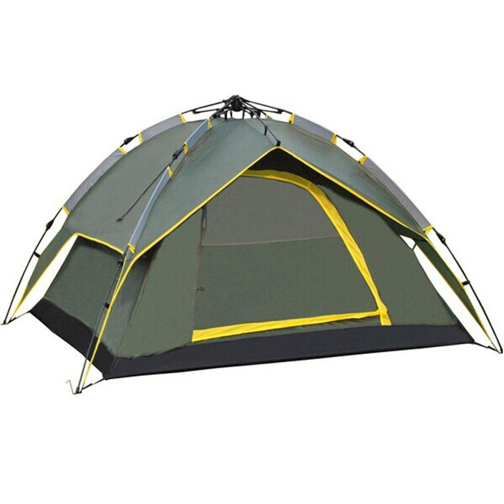 Tente Automatique 3 à 4 Personnes Deux Secondes Ouvrent Automatiquement La Tente Tentes De Camouflage Extérieures Tente De Camping