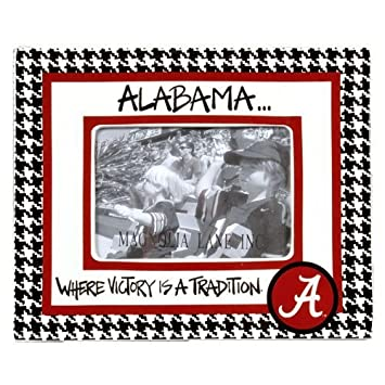 University of Alabama Houndstooth Picture Frame by Magnolia Lane ...