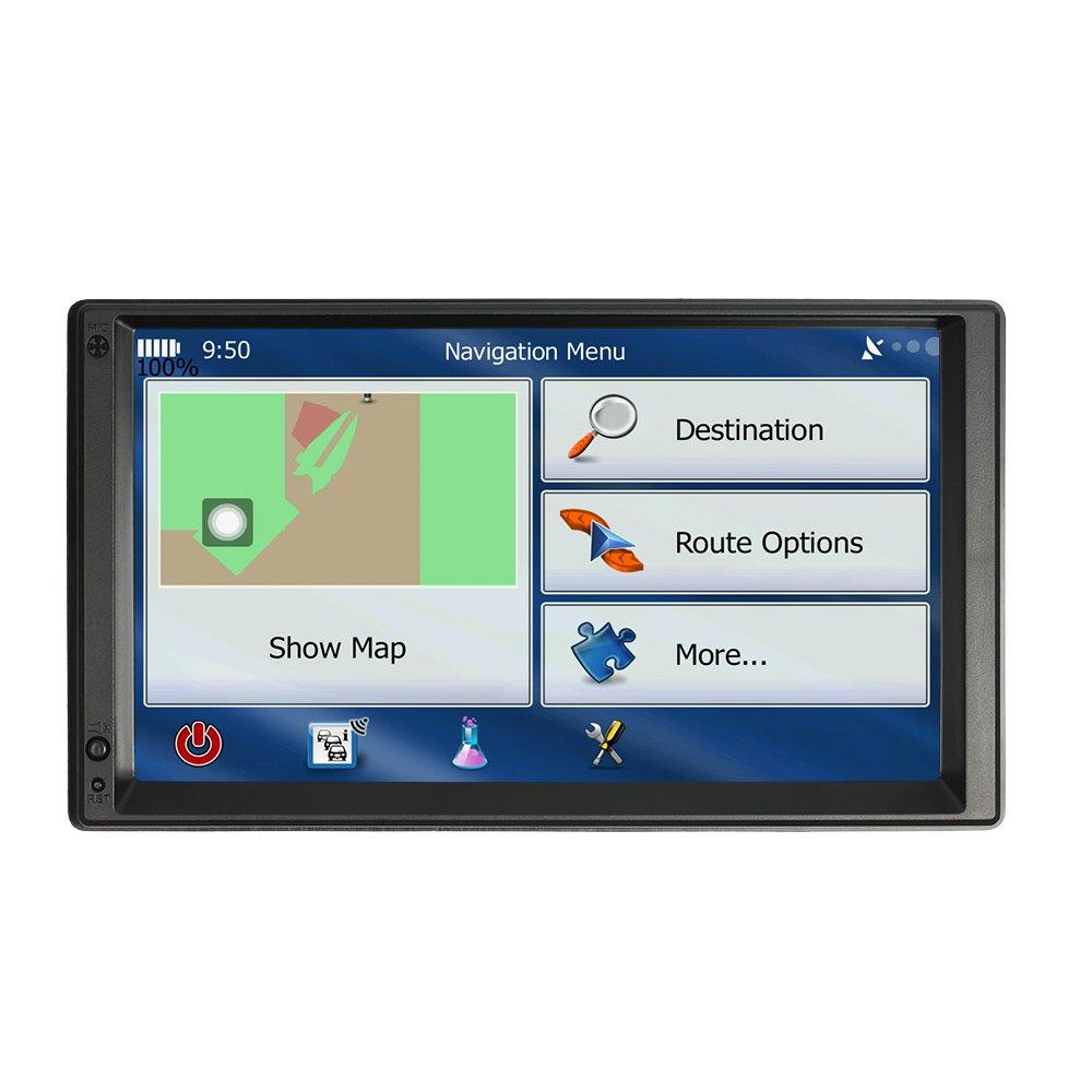 kkmoon 7inch 2/Din Universal Car MP5/Bluetooth Radio Multimedia USB dash-fm TF//AUX Input